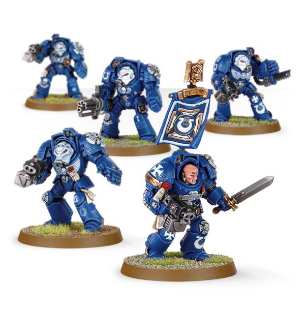 Terminator Squad - Now with New-and-Improved Storm Bolters