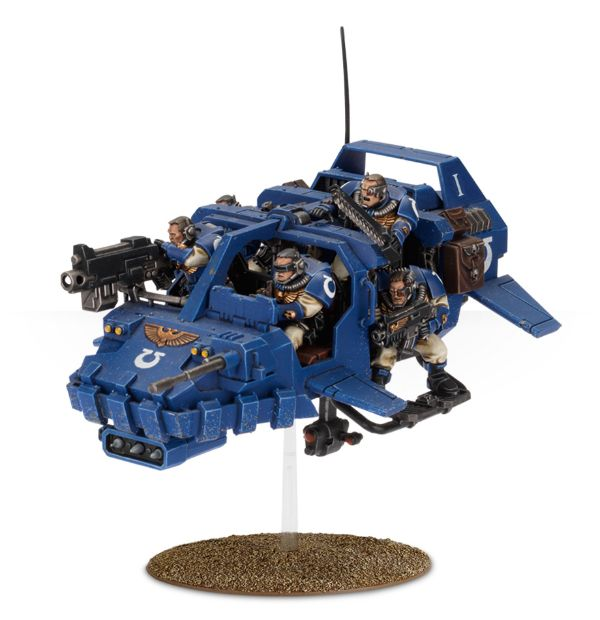Scout Speeder - The Space Marine Blackhawk