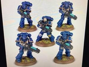 Hellblaster Squad - Heavy Support Plasma Guns