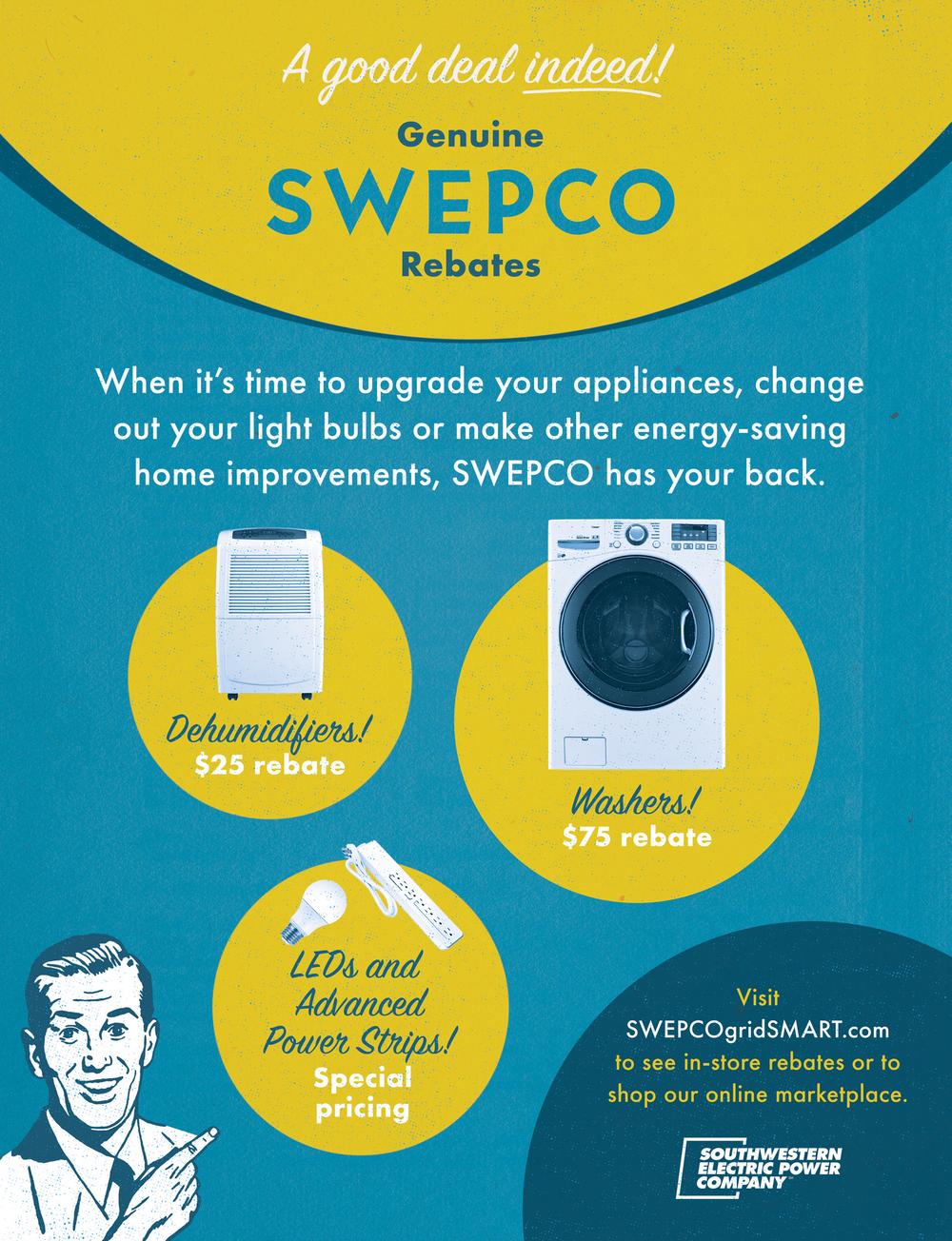 Genuine SWEPCO Rebates