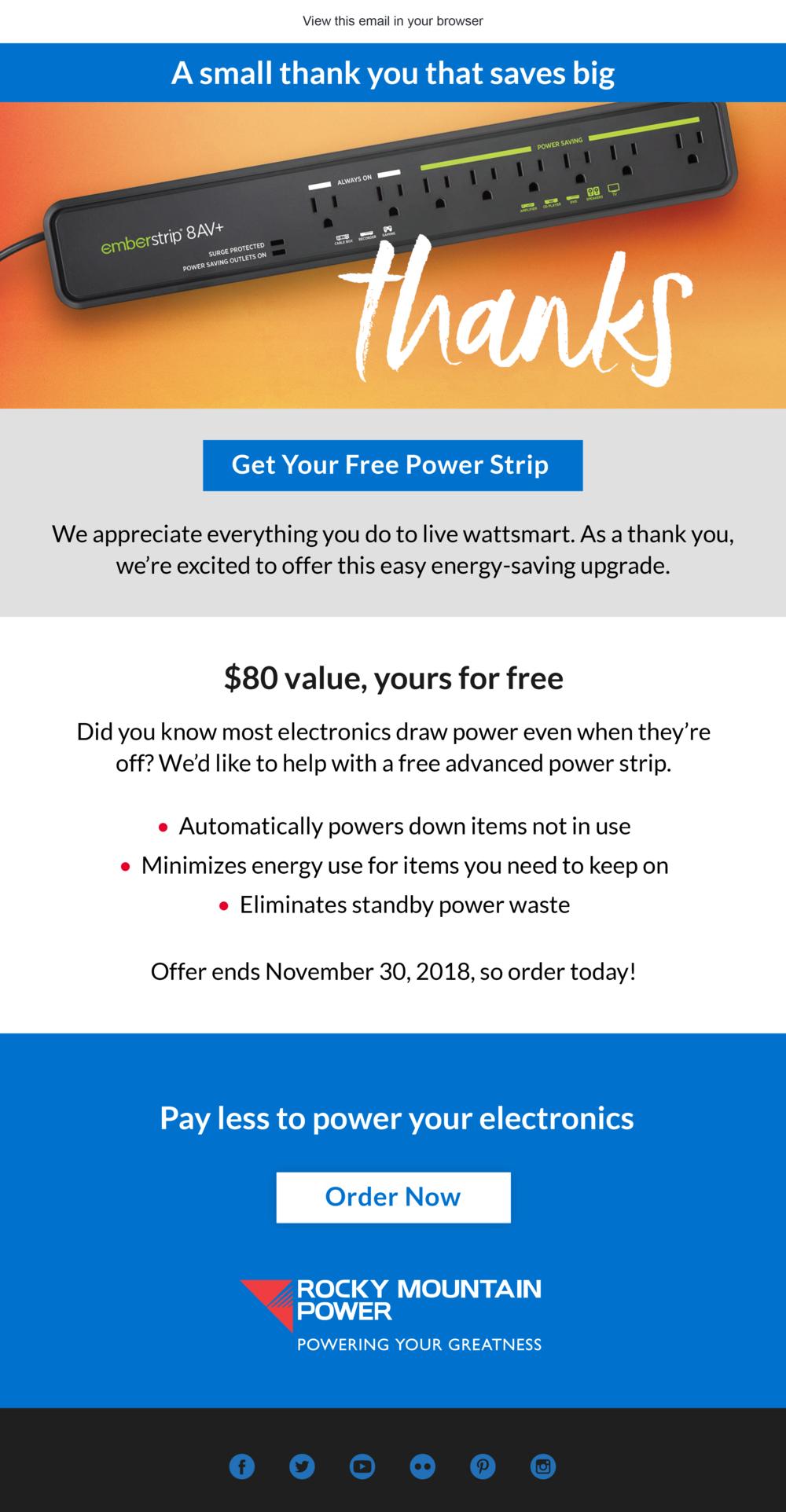 No Ordinary Power Strip
