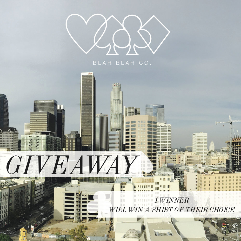 INSTAGRAM GIVEAWAY - SOCIAL MEDIA