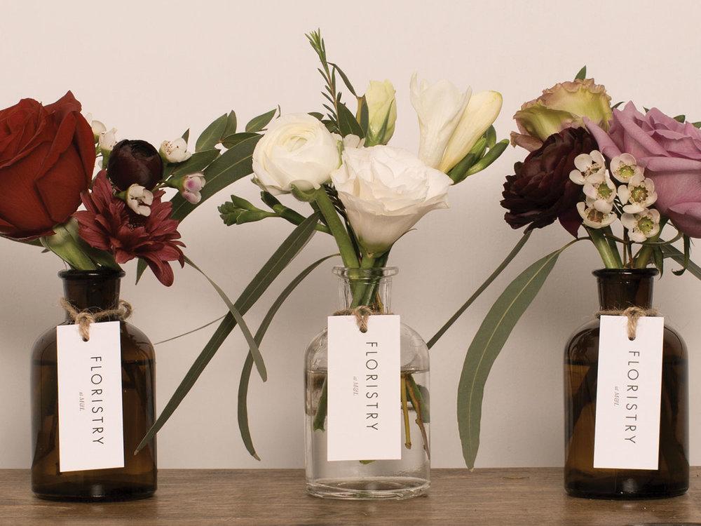 Mini flower jars