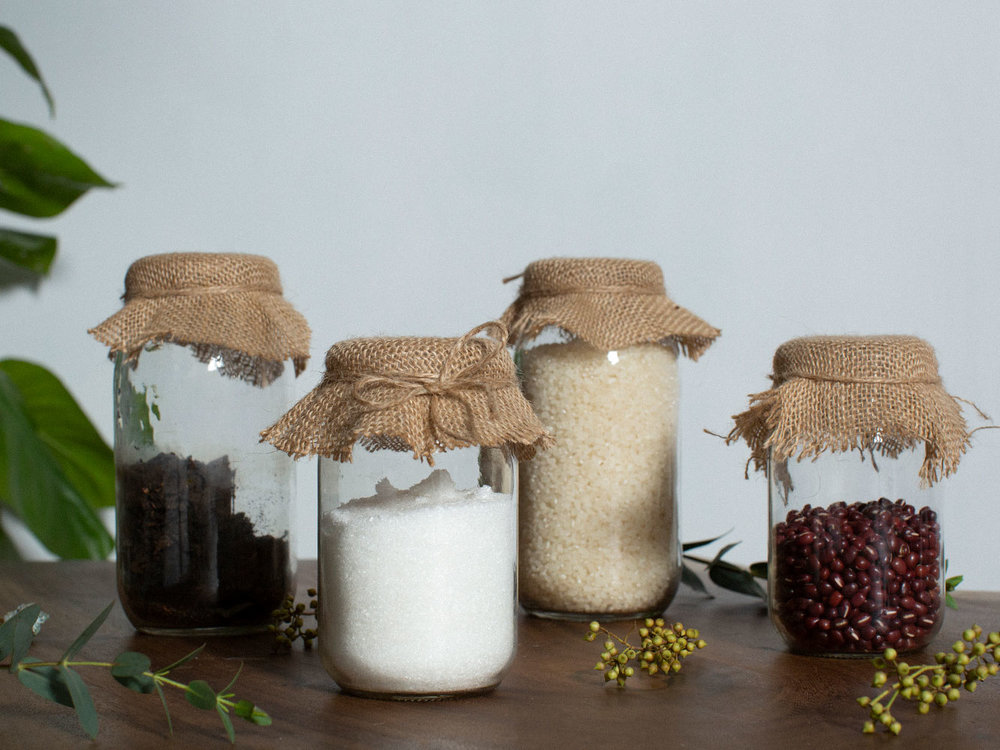 Cute and decorative storage jar covers
