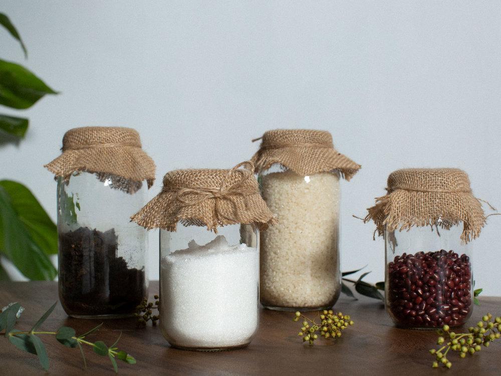 Cute and decorative storage jar covers