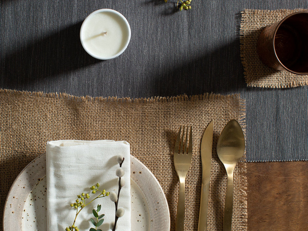 Add rustic charm with a frayed edge