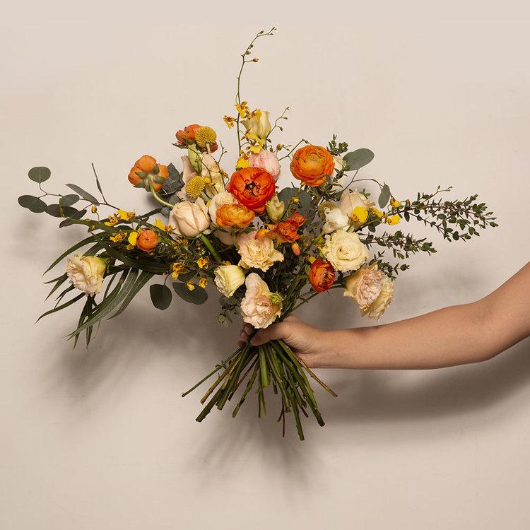 April's Gold Bouquet