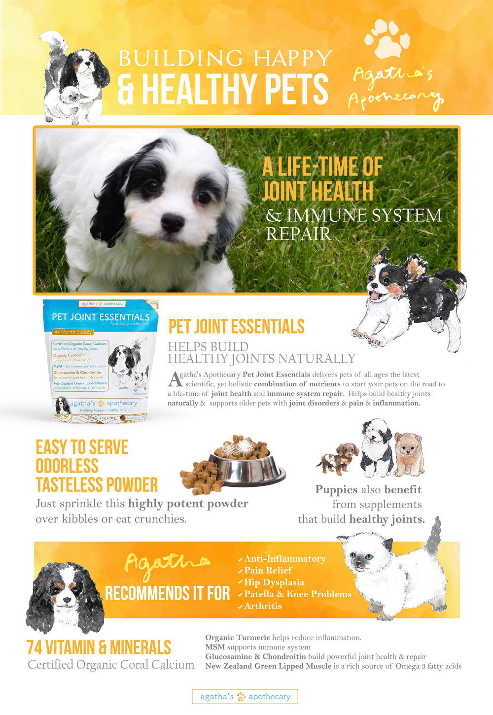 Agatha's Apothecary Pet Joint Essentials