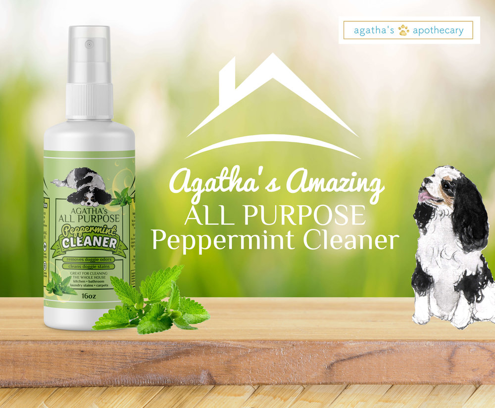 Agatha's Apothecary Amazing All Purpose Peppermint Cleaner