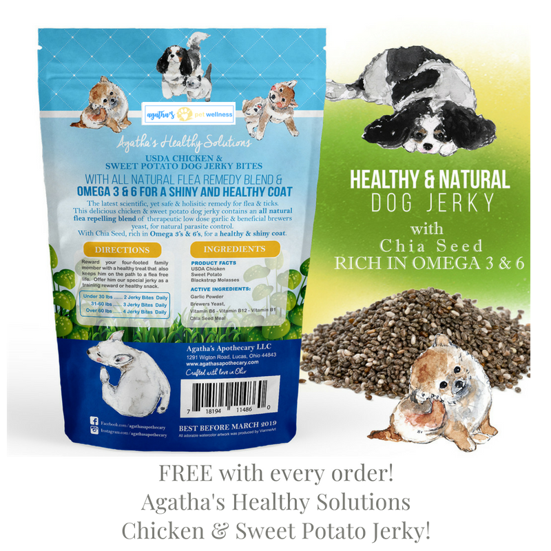 Agatha's Pet Wellness Chicken & Sweet Potato Jerky