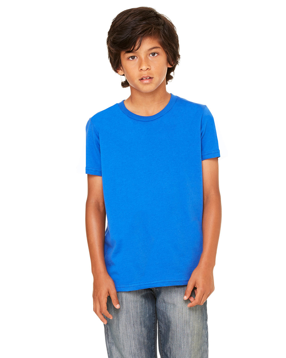 1156f96d 3001Y BELLA + CANVAS YOUTH JERSEY SHORT-SLEEVE T-SHIRT — Cut It Out ...