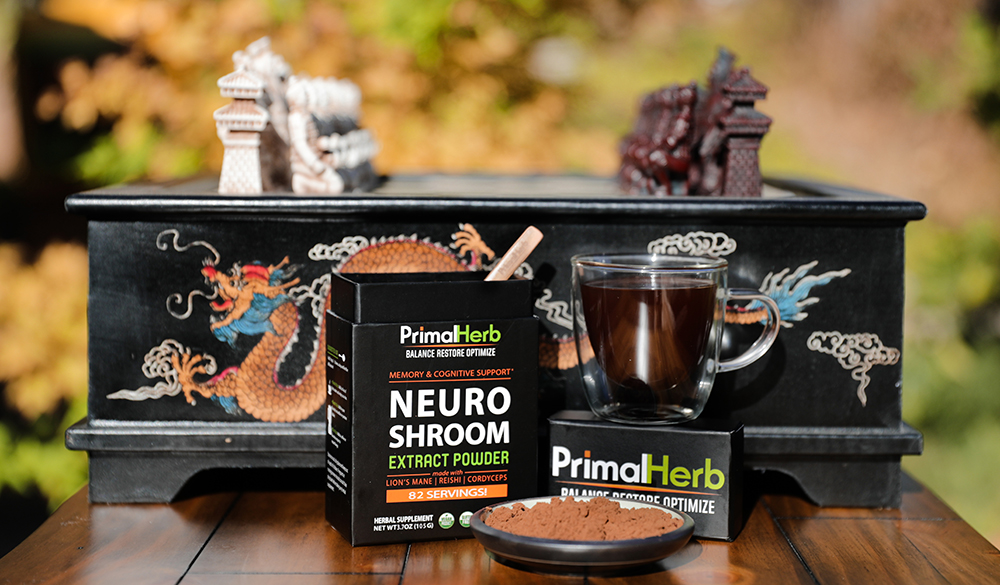 Medicinal Mushrooms - Supports healthy function of all systems of the body. Works synergistically with chocolate.