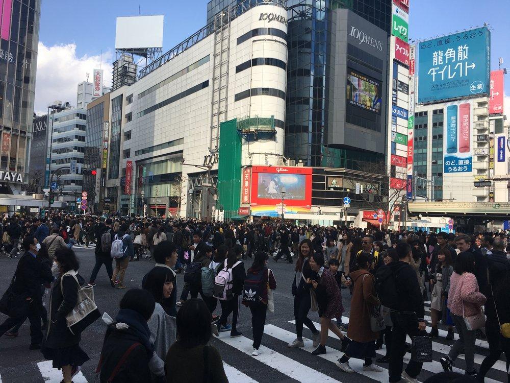 Tokyo, japan - February 2017
