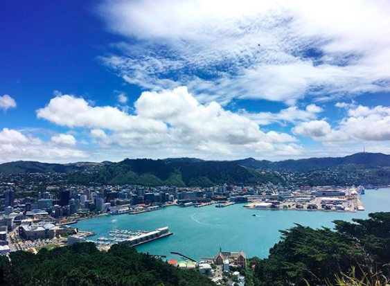 Wellington, New Zealand - January, 2018