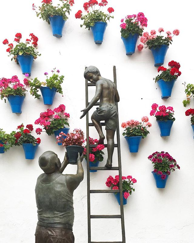 A favorite piece of public art by José Manuel Belmonte lives on a side street in Córdoba.