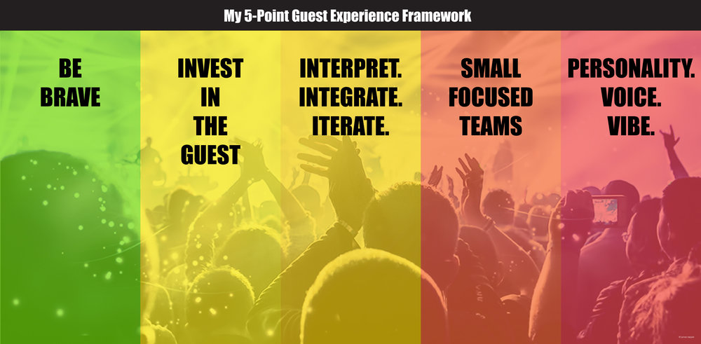 James Keppel's 5-Point Guest Experience Framework