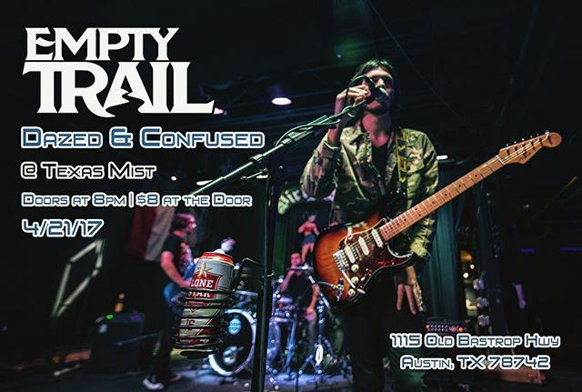 See you guys tonight at Texas Mist! We might even be playing a cover for you! Word is Empty Trail will be hitting the stage around 12am, but why don't you come out and see all the other awesome bands! It will be a great night! 😃🤘 | #rock #rocknroll #rockandroll #rockmusic #rockshow #rockon #rockstars #hardrock #flyer #musiclife #austintx #texasmusic #metal #metalhead #metalheads #fender #stratocaster #livemusic #newmusic #musically #musiclover #musiclovers #austin #texasmist #emptytrail #rockbands #guitars #bassguitar #drums #progrock @texasmistlmv @three33music @bushpilotsband