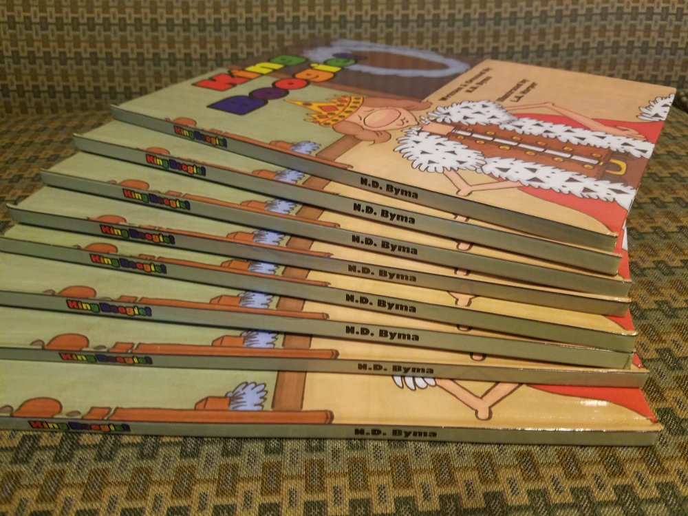 King Boogie second hardcover printing is here!!