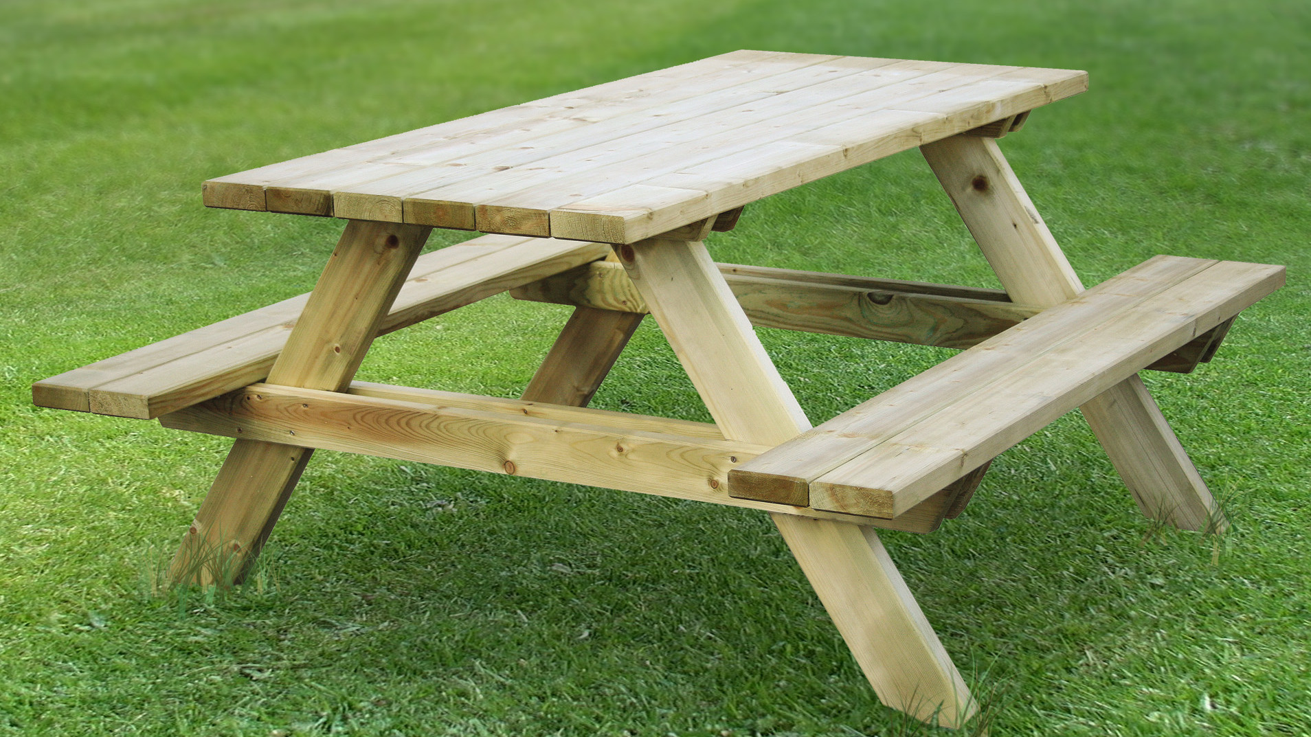 How To Finish A New Picnic Table Part 82