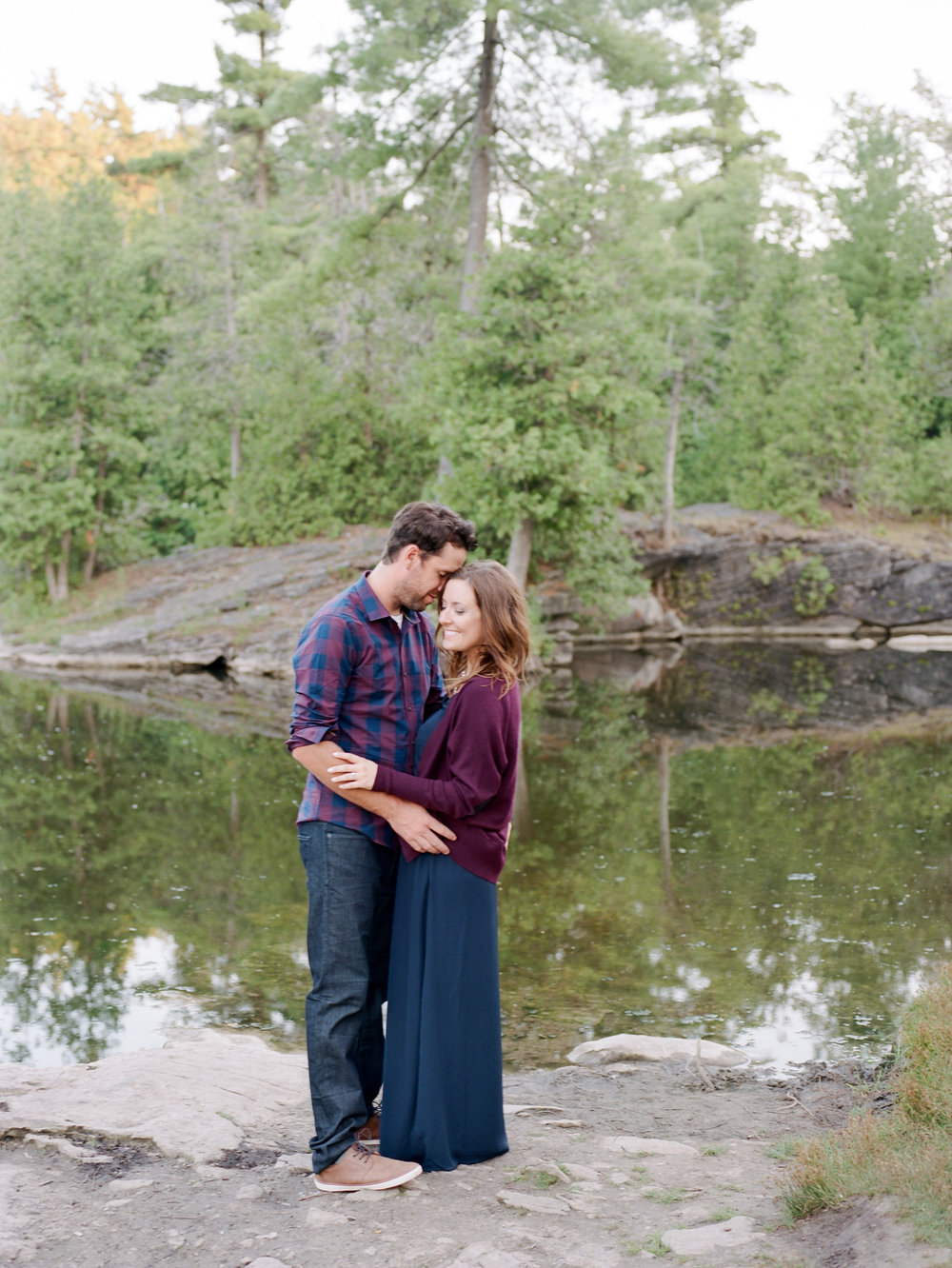 Huron Valley Engagement Photographers | Hamilton Wedding Photographer | Rockwood Conservation Area | Heather Dietz Photography