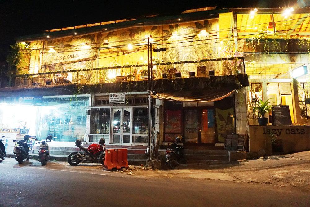 Canggu by night