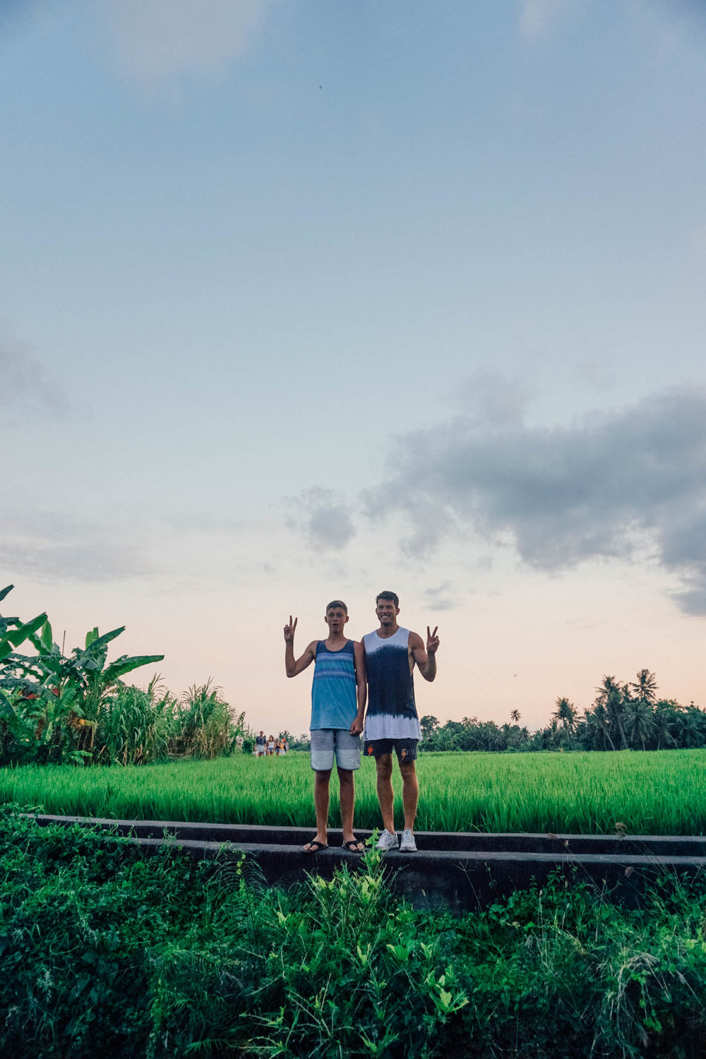 Mike and Holden In Ubud