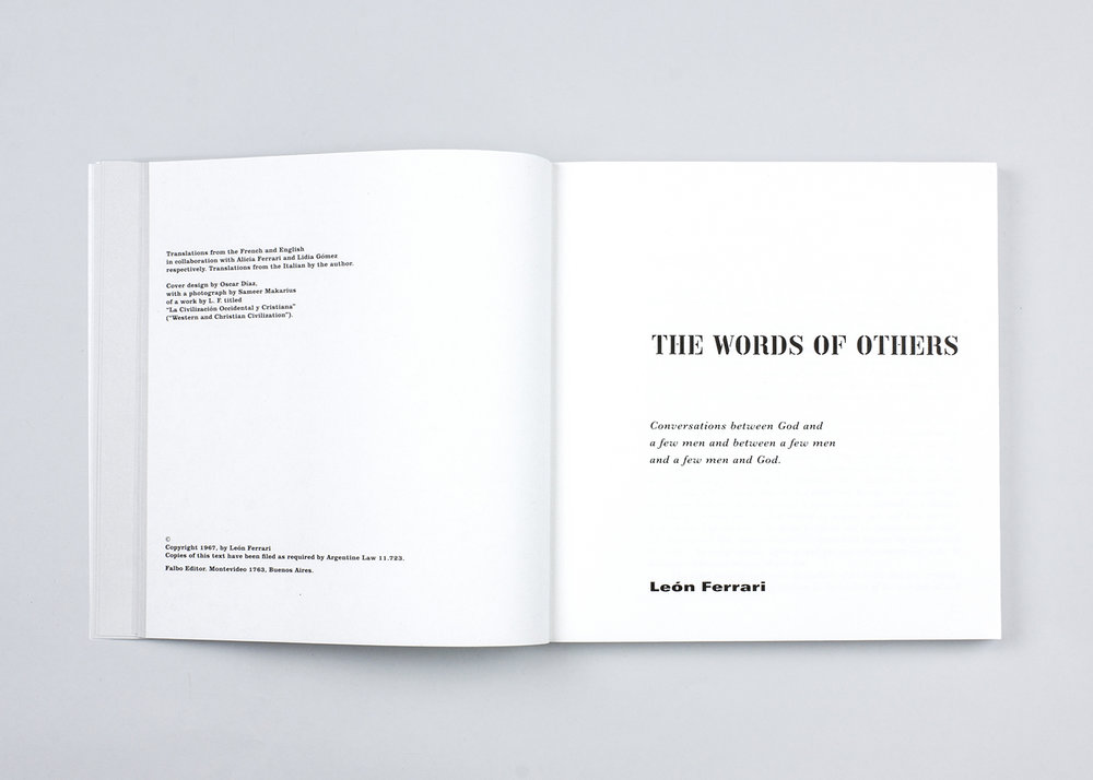 the words of others palabras ajenas x artists books
