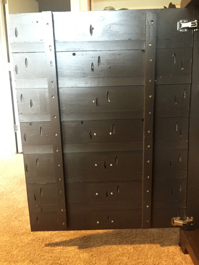 Fake Architectural Drawers Cabinet