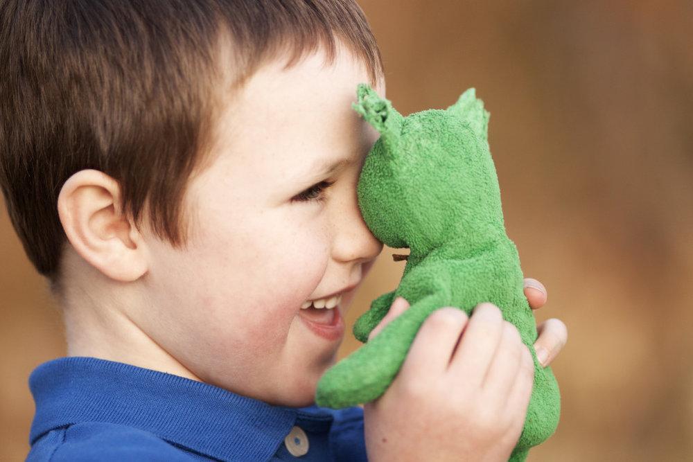 Little boy and his bear | Taryn Brooke