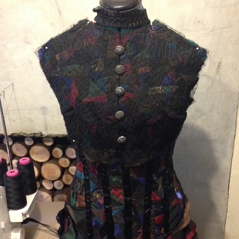 Elphaba Act 2 inspired dress | Taryn Brooke