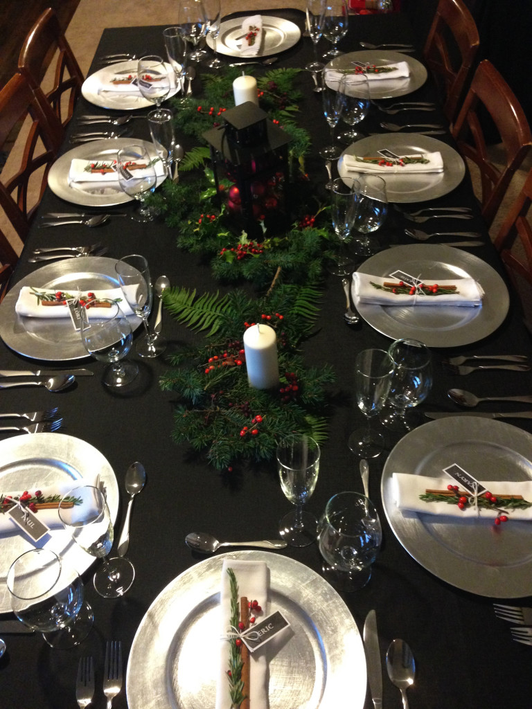 Christmas Dinner Party 2014
