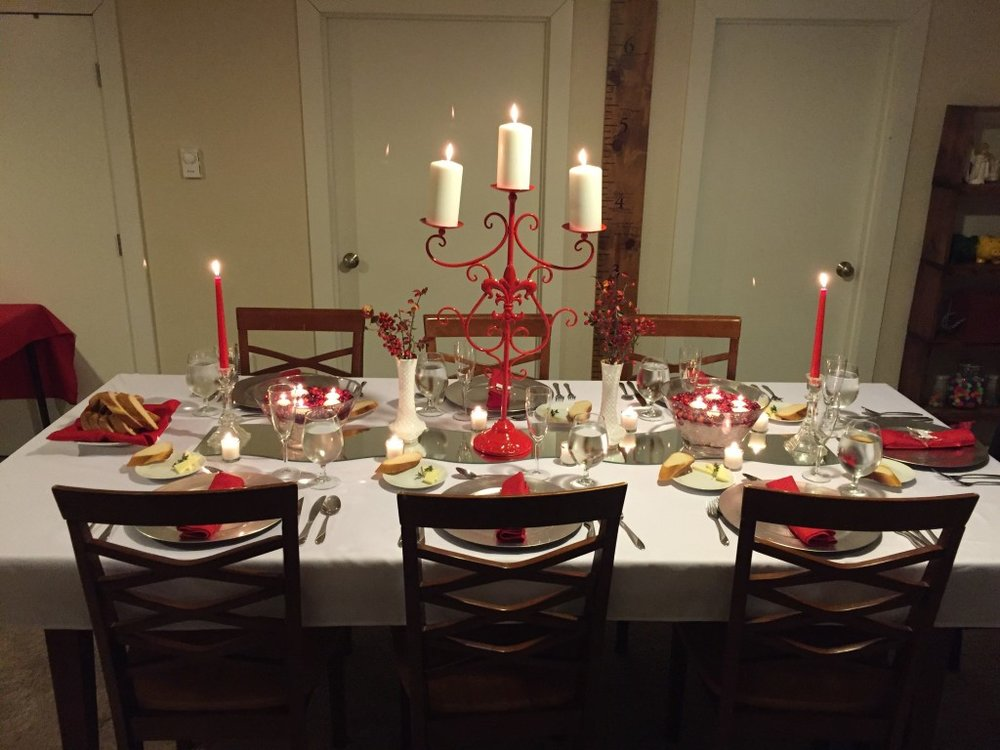 Christmas Dinner Party 2015
