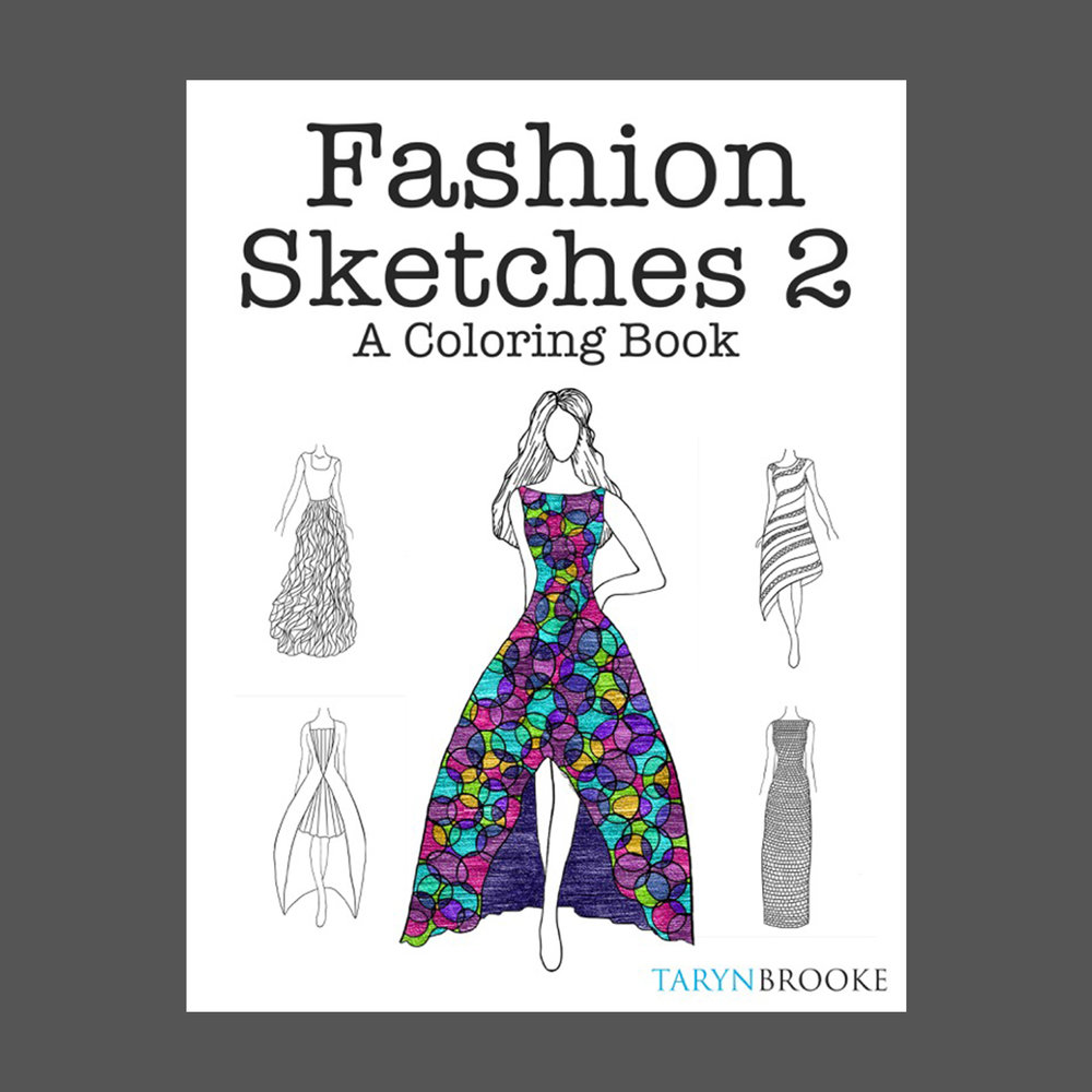 Fashion Sketches 2 - 100 new designs!