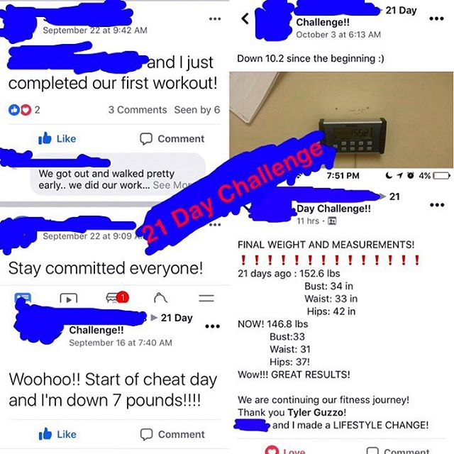 I'm looking for 2 MOTIVATED INDIVIDUALS who want to join the up coming 21 Day Challenge‼️🙋‍♂️🙋 • ✅Lose up to 10 lbs and inches on your waist❗️ ✅21 Day Meal Plan ✅Easy To Follow At Home Exercise Routine ✅Accountability and Motivational Group ✅24 Hr Access To A Fitness Professional 💪🏼 • DM For Details❗️ • • #weightlossjourney #weightloss