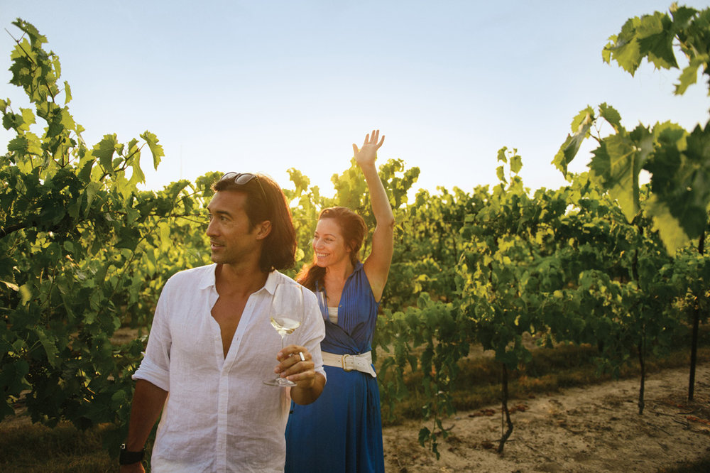 Re-connect while you discover the terroir of Vancouver Island wineries.