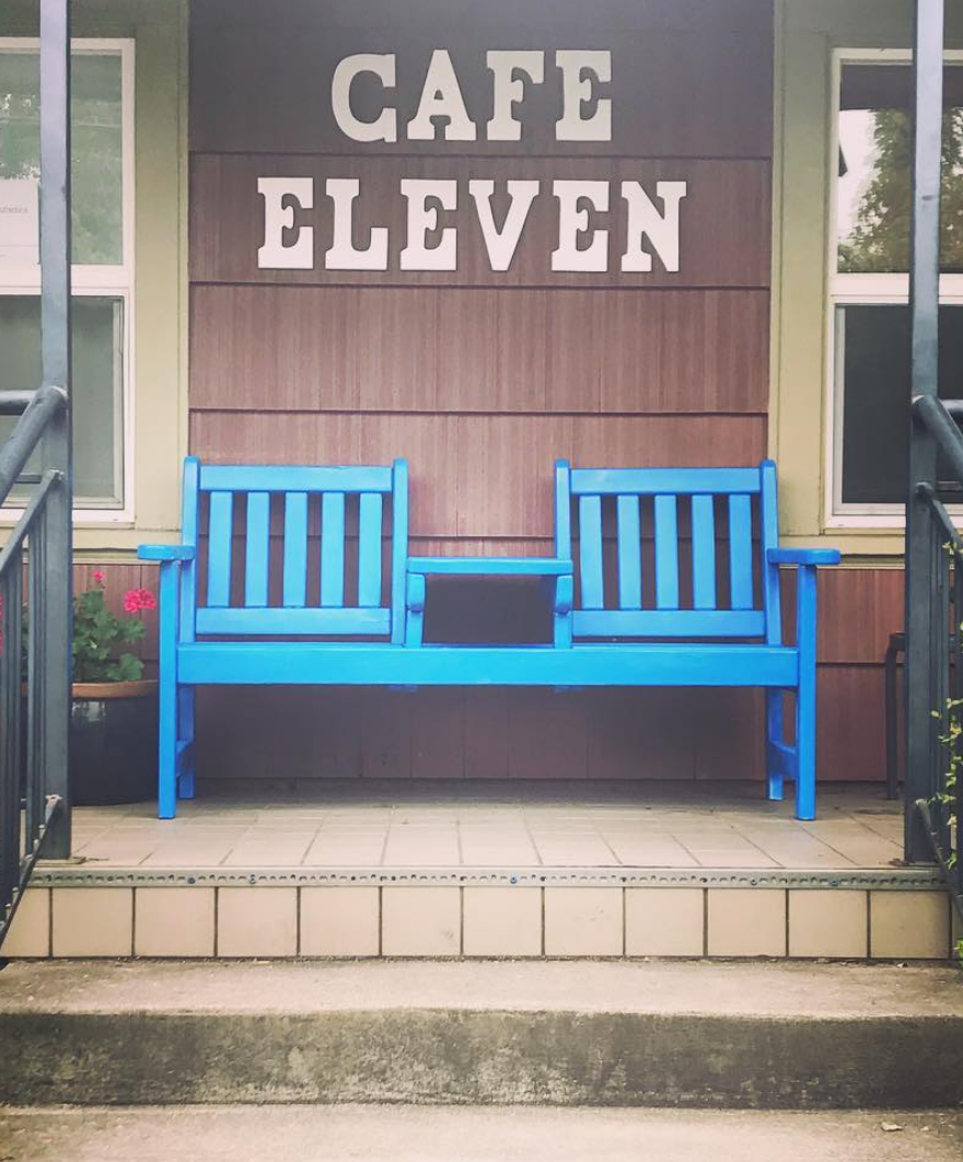 Cafe Eleven has been around for seven years and was named after a Polish cafe called Coffee 11.