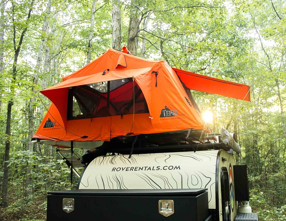 ROVE Tepui Kukenam Ruggedized Rooftop Tent