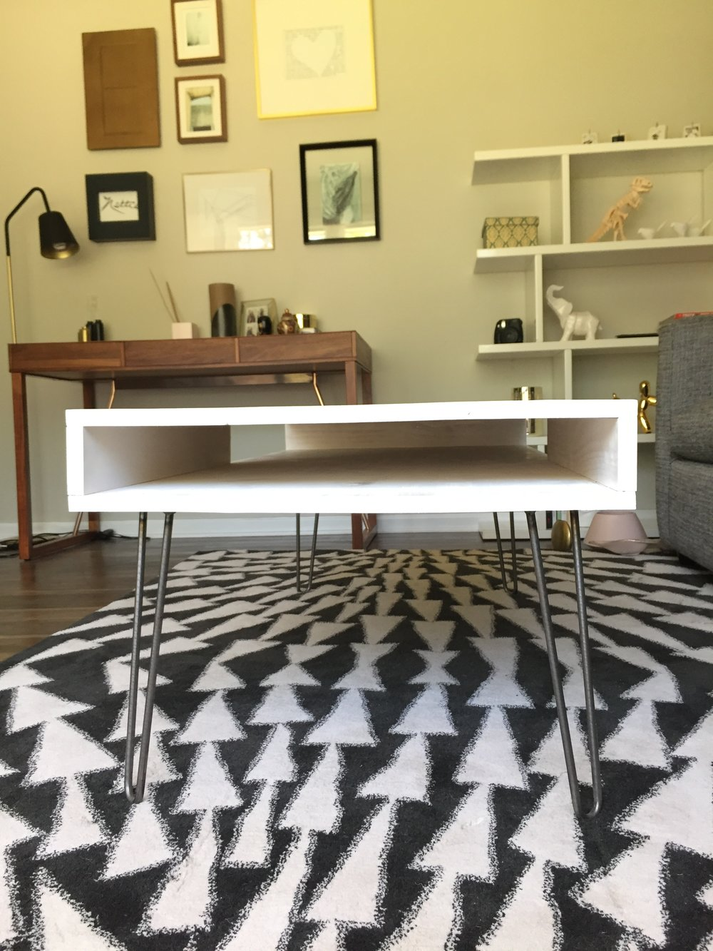 The Timmy Coffee Table Is A Mid Century Modern Inspired Design. It Has  Hairpin Legs, Clean Lines And Interesting Dimensions, But Also Some Rustic  Charm With ...