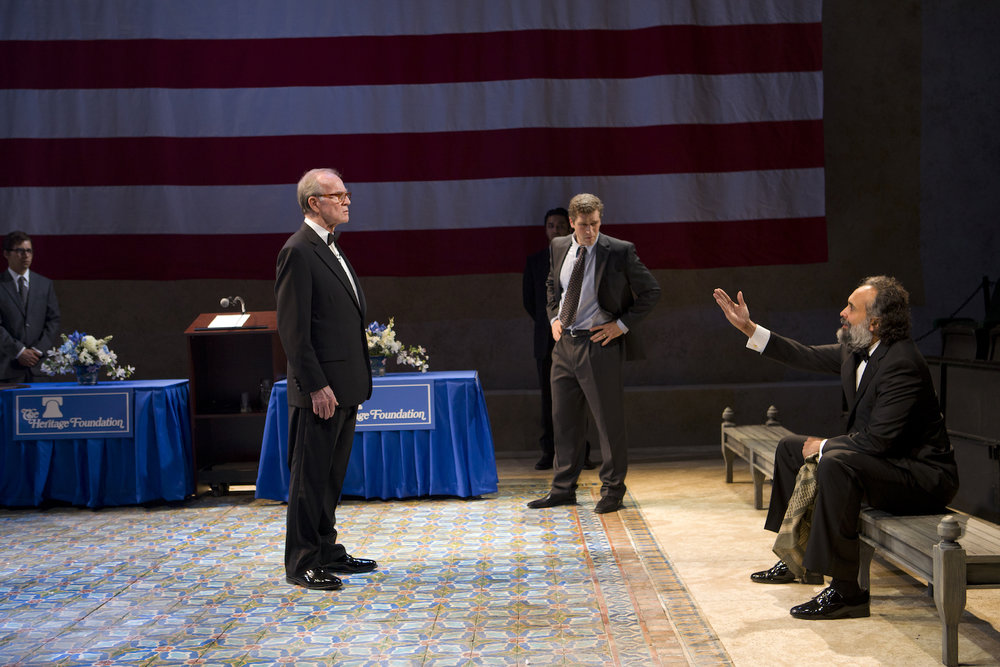 Blood and Gifts at Lincoln Center Theater, Photo by T. Charles Erickson