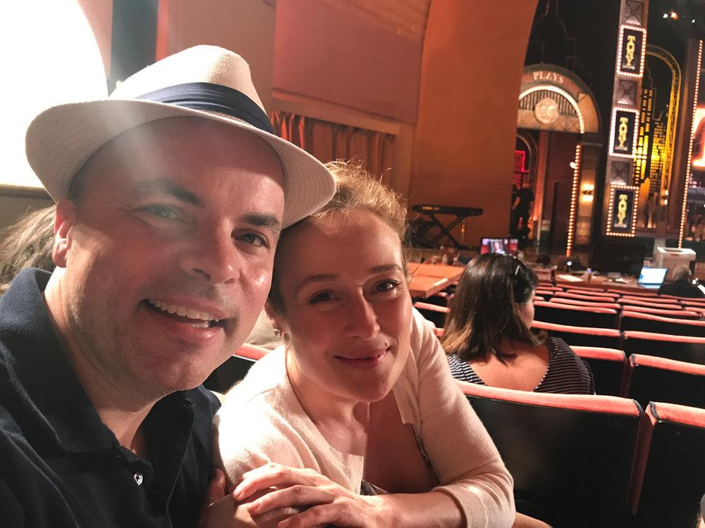 JT and Jennifer Ehle at Radio City