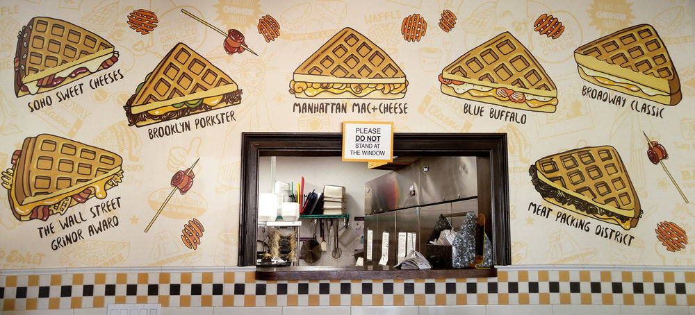 New York Grilled Cheese® Wall Art