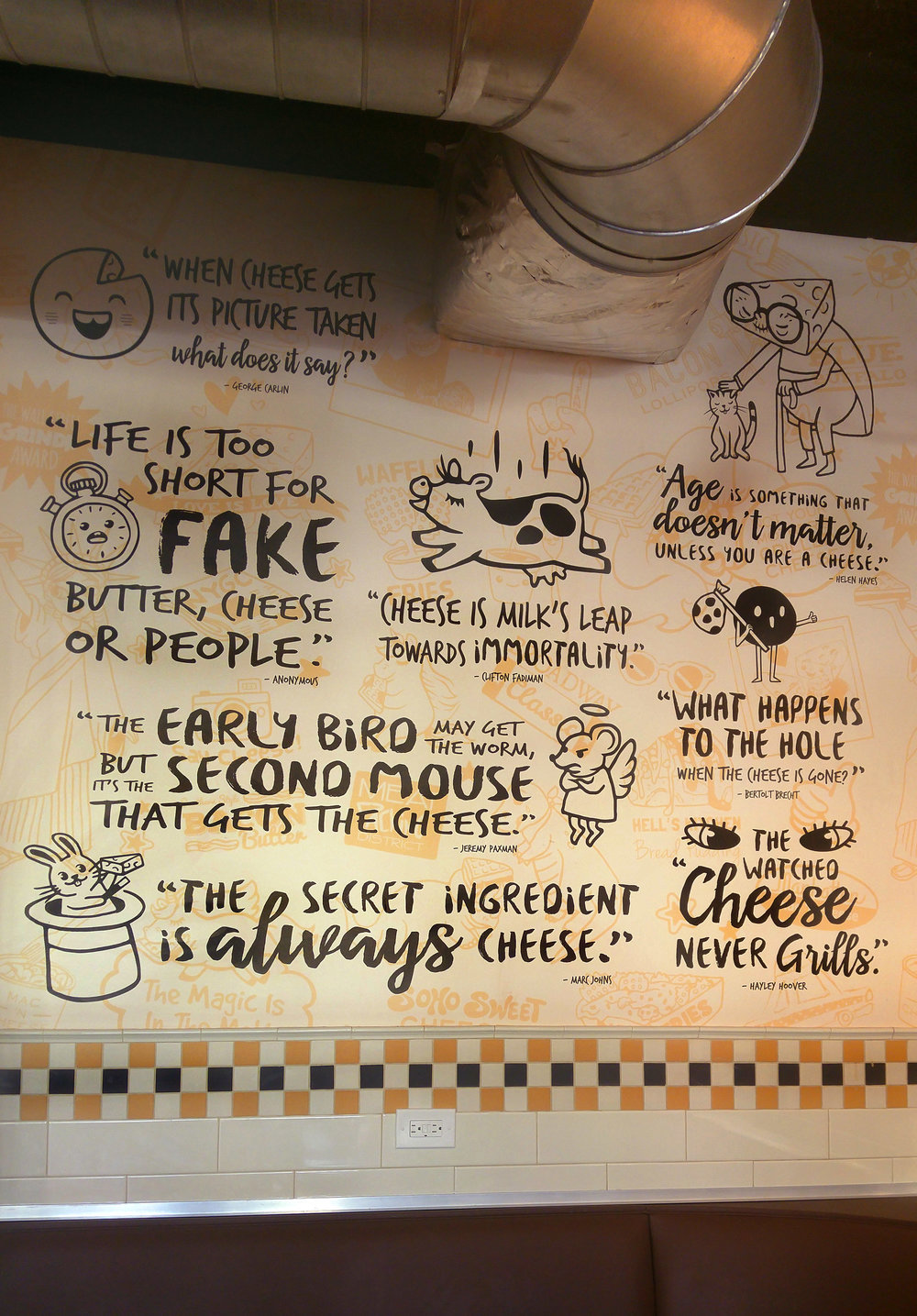 Wall of Cheese Quotes