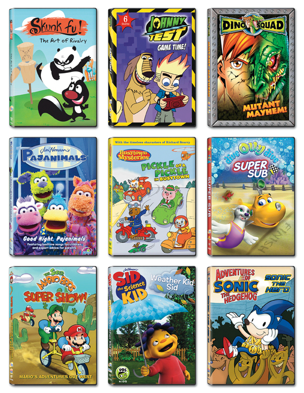 NCircle DVD Cover Designs