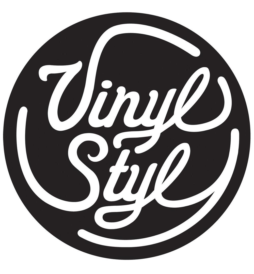 Vinyl Style Logo Design