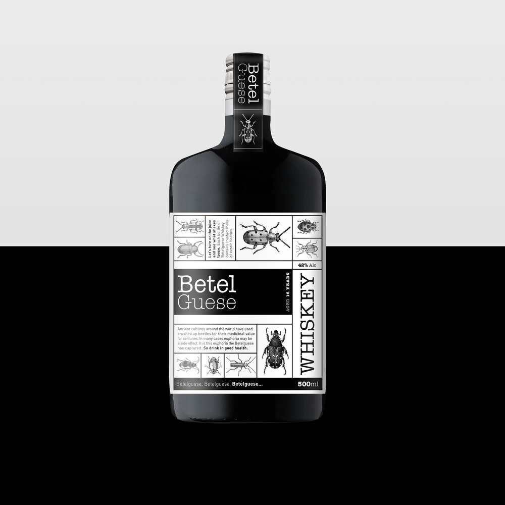 Shanti-Sparrow-betelguese-whiskey-packaging-design