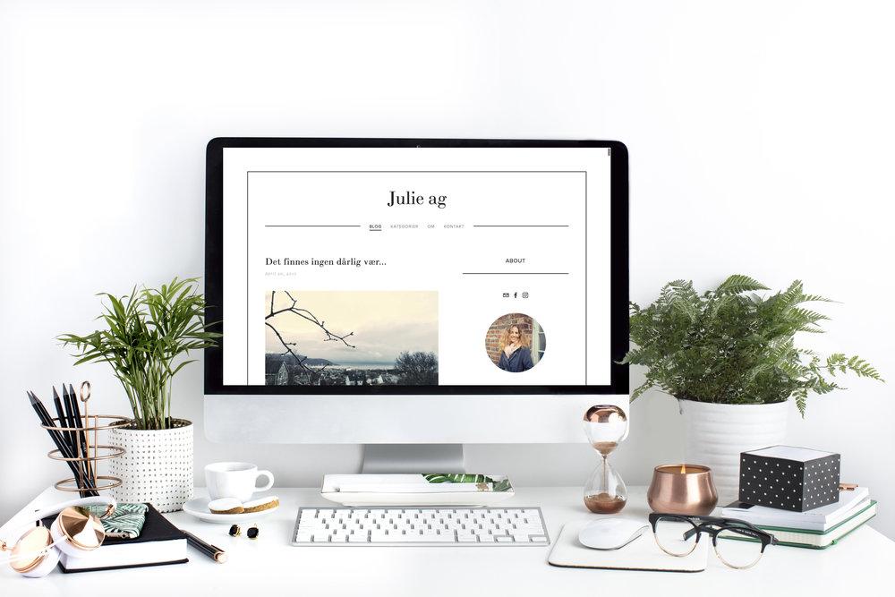 Blog til Julie Ag