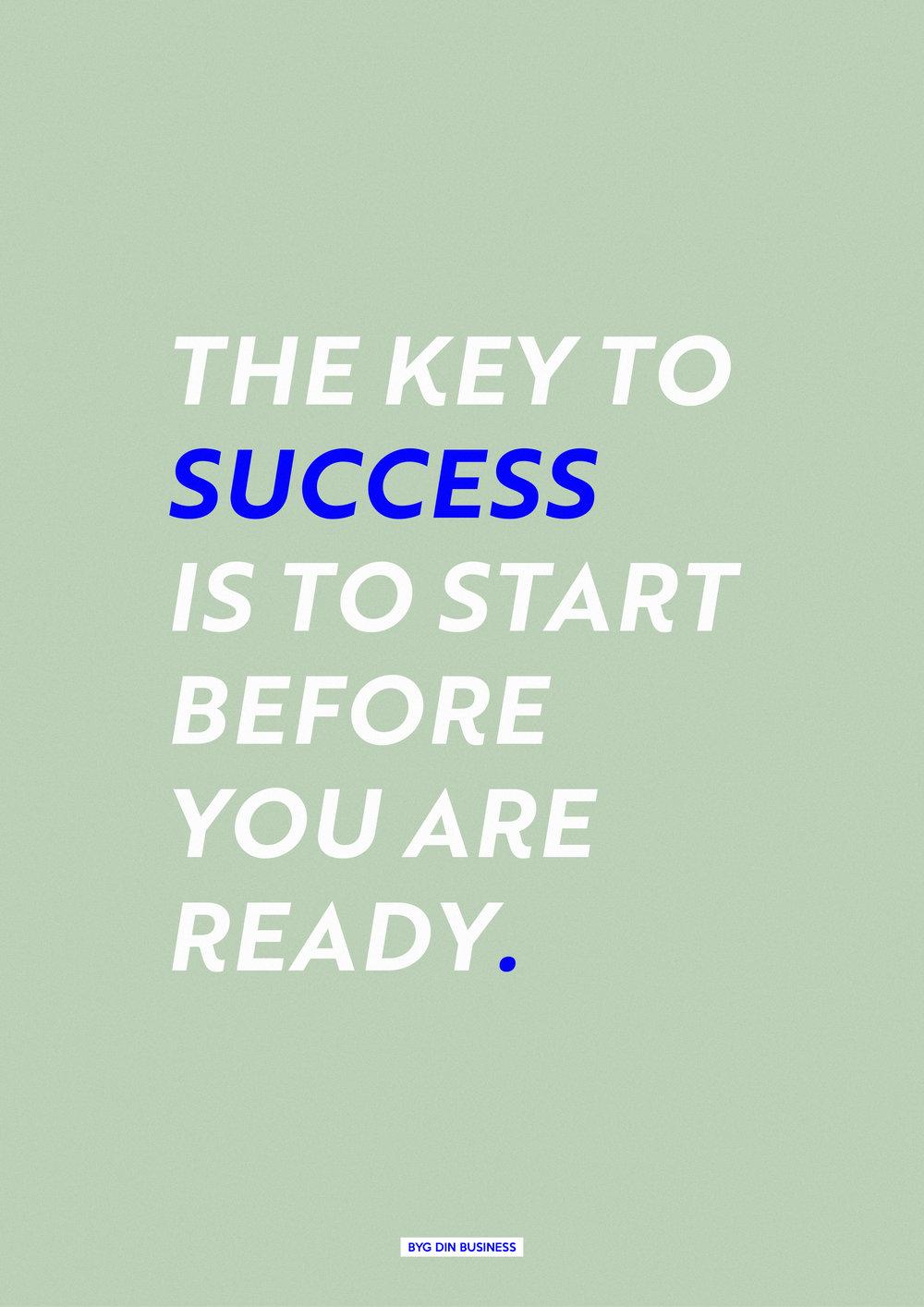 The Key To Success, plakat.jpg