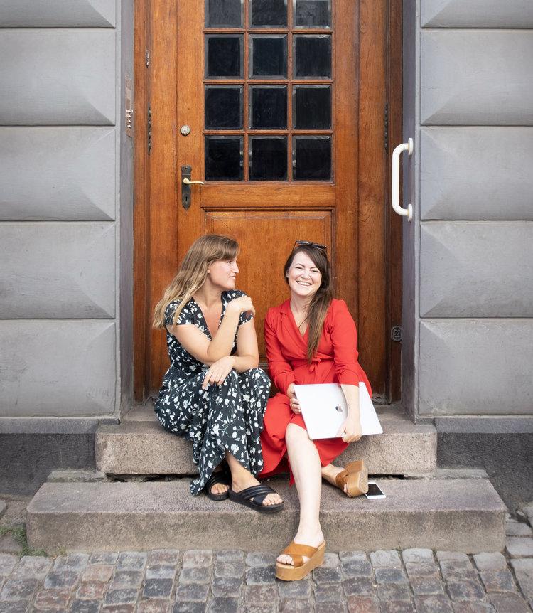 BYG DIN BUSINESS: Camilla Agerskov og Cathrine Møller Petersen