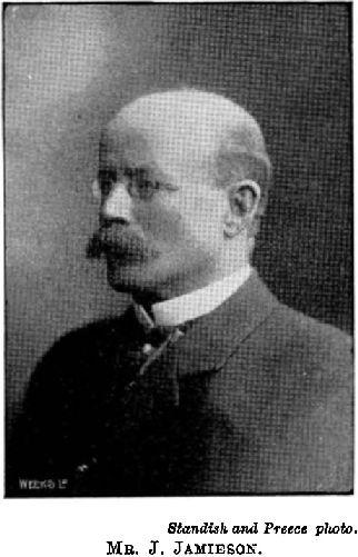 James Jamieson. Image: Cyclopedia of New Zealand, 1903.