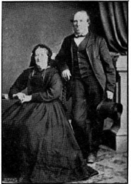 John and Mary Grubb. Image: Cyclopedia 1903a.